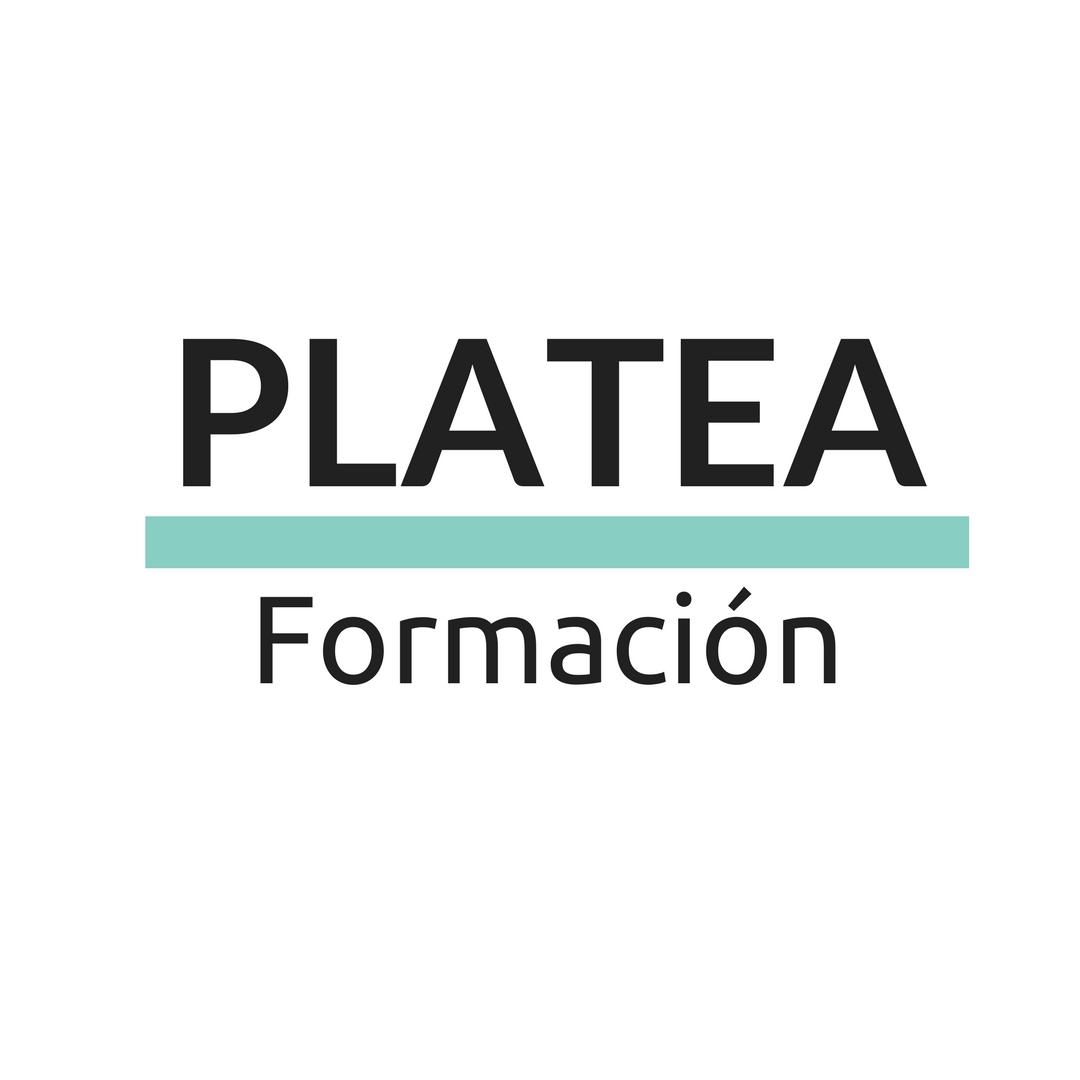 Platea Formación Logo