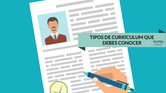 Tipos de currículum que debes conocer