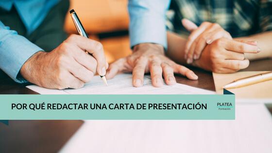 Por qué redactar una carta de presentación
