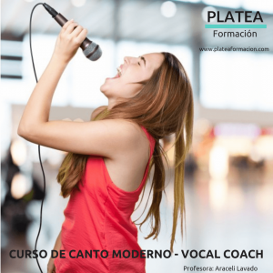 Curso de canto moderno Vocal Coach
