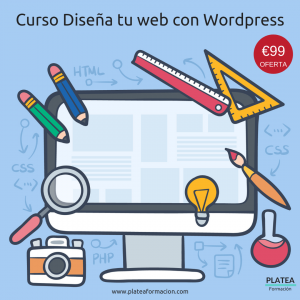 Curso diseña tu web con Wordpress