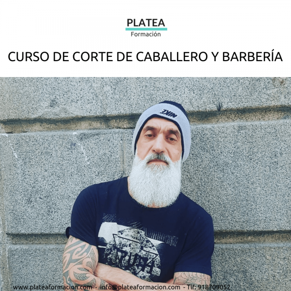CURSO CORTE DE CABALLERO Y BARBERÍA