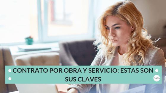 contrato por obra y servicio