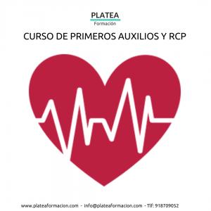 CURSO PRIMEROS AUXILIOS RCP