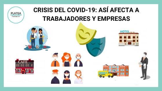 Crisis del COVID-19: Así afecta a trabajadores y empresas